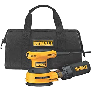 DEWALT D26451K Corded 3 Amp 5-Inch Random Orbit Sander with Cloth Dust Bag by DEWALT