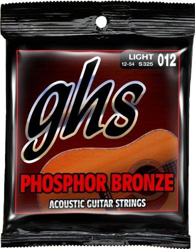 GHS Strings Acoustic Guitar Set (Light, Phosphor Bronze)
