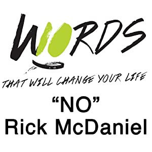 No: 10 Words | [Rick McDaniel]