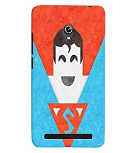 Asus Zenfone 6 MULTICOLOR PRINTED BACK COVER FROM GADGET LOOKS