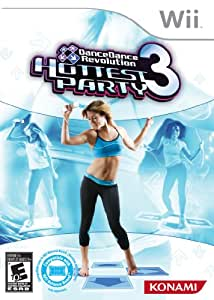 DanceDanceRevolution Hottest Party 3-Software Only - Nintendo Wii