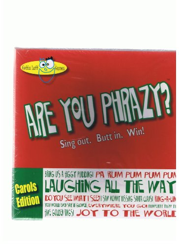 Are You Phrazy? Carols Edition