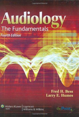 Audiology: The Fundamentals