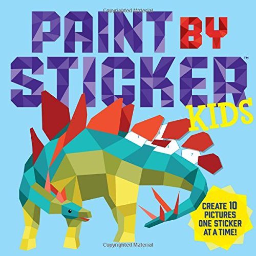 Paint by Sticker Kids: Create 10 Pictures One Sticker at a Time (Paint By Numbers Book compare prices)
