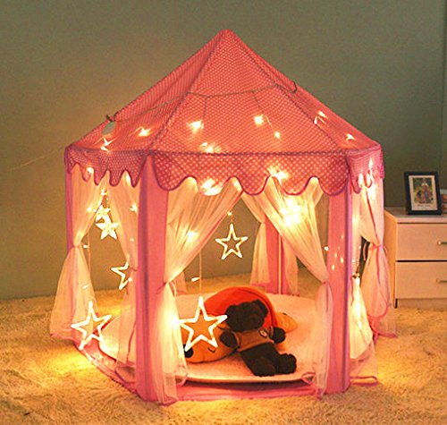 Home ... & Updated] Kids Indoor Princess Castle Play Tent55