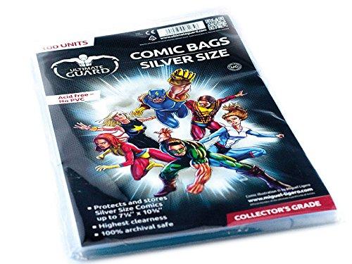 Silver Comic Bags - 1