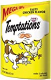 Whiskas Temptations Tartar Control Tasty Chicken Flavour Treats for Cats, 6.3-Ounce Pouches (Pack of 10)