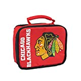 Chicago Blackhawks Sacked Lunch Box - Red