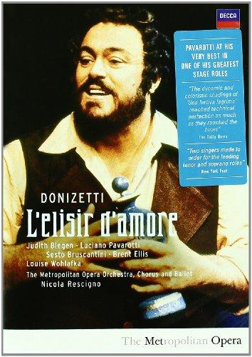 Elisir D'Amore (Pavarotti) - Donizetti - DVD