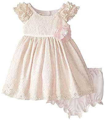 Amazon Laura Ashley London Baby Girls Ruffle Sleeve