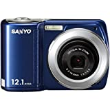 SANYO VPC-S120 Sanyo VPC-S120 Midnight Blue 12mp Digital Still Camera