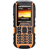 icefox Dual sim Rugged Unlocked mobile phone,IP68 Waterproof,Shockproof Outdoor Military Cell Phone