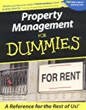 img - for Property Management For Dummies (For Dummies (Lifestyles Paperback)) book / textbook / text book