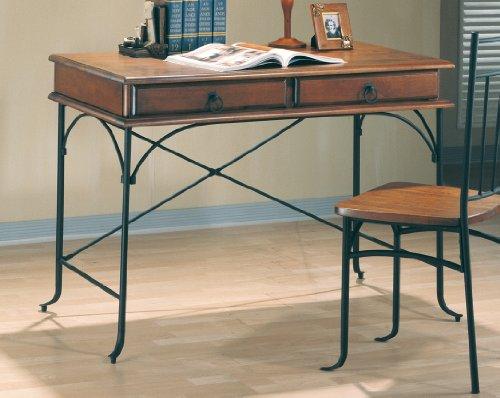 Black Friday Coaster 5930 Writing Desk Oak Finish Cheap