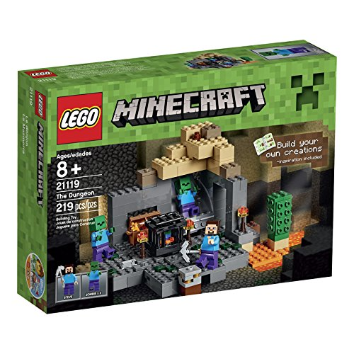 LEGO Minecraft The Dungeon Building Kit
