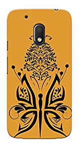 Kaira High Quality Printed Designer Back Case Cover For Motorola Moto G4 Play(Abstractbutterfly)