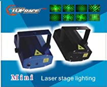 Top Race LED Mini Stage Light Laser Projector Club Dj Disco Bar Stage Light, Voice-activated Version FDA & Amazon Standards Laser Type: Class IIIR