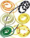 Rubber 36 Coiled Prop Toy Snakes  Set of 12