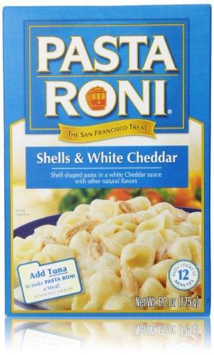 Pasta Roni, Shells & White Cheddar, 6.2 Oz