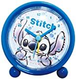 Disney 目覚まし時計 ラウンドアラームクロック アナログ表示 スティッチ 734351