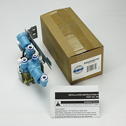Refrigerator Triple Water Valve for Frigidaire, AP5671757, PS7784018, 242252702 (Part Number 242252702 compare prices)