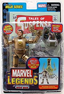 Marvel Legends Series 14 Action Figure 1st Appearance Gold Iron Man VARIANT