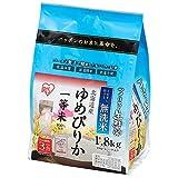 【精米】生鮮米 無洗米 北海道産ゆめぴりか 1.8kg  平成28年産