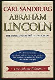 Image of Abraham Lincoln;: The prairie years and the war years