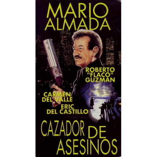 Amazon.com: Cazador De Asesinos [VHS]: Mario Almada, Eric del Castillo