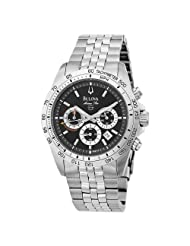 Bulova Men's 96B113 Marine Star Chronograph Stainless Steel Bracelet Watch