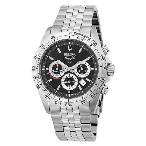 Bulova Men's 96B113 Marine Star Chronograph Stainless Steel Bracelet Watch
