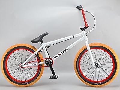 Mafiabikes Kush 2+ 20 inch BMX Bike WHITE
