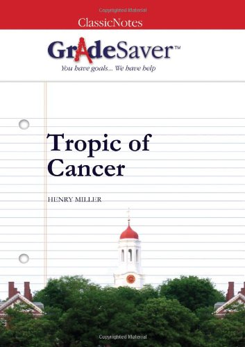 tropic of cancer essay questions gradesaver  essay questions tropic of cancer study guide