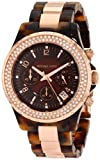 Michael Kors Women's MK5416 Madison Chronograph Tortoise plus Rose Gold Watch