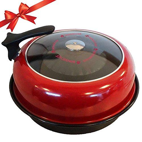 Wonderchef Gas Oven Tandoor (Red and Black)