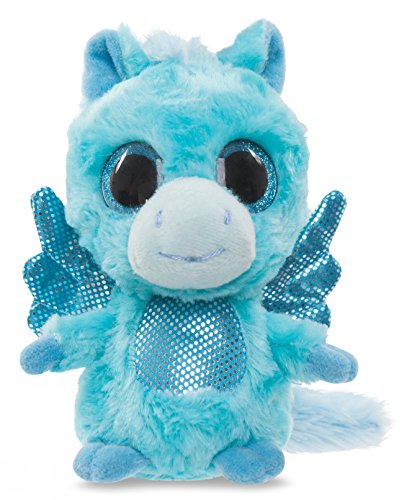 yoohoo-friends-cuddly-toy-horse-pegasus-cuddly-toy-blue-with-glitter-eyes-13-cm