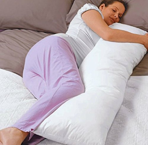 """High Quality-Hypoallergenic- Body Pillow 20"""" X 54"""" - Exclusively By Blowout Bedding Rn# 142035 front-867074"""