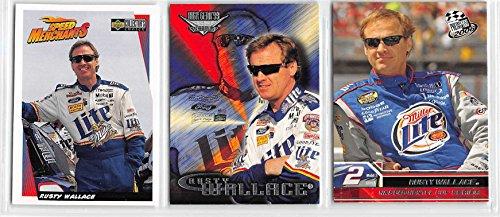 Rusty Wallace - NASCAR Racing Card Lot - 3 Cards (C)