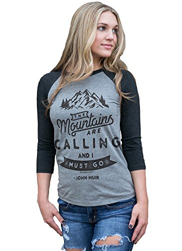Superluxe-The-Mountains-Are-Calling-And-I-Must-Go-Unisex-Raglan-T-Shirt