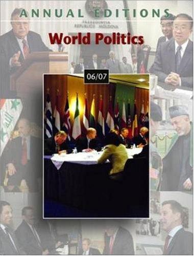 Annual Editions: World Politics 06/07