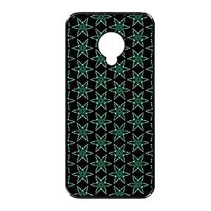 Vibhar printed case back cover for Samsung Galaxy S4 Mini BlueBlackStar