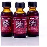 Bakto Flavors Natural Raspberry Flavor(1 FL OZ) Pack of 3