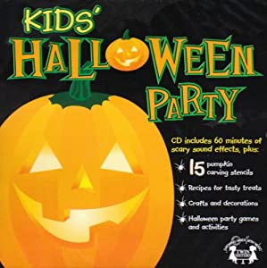 Kids Halloween Party Music CD