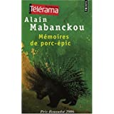 Mmoires de porc-picpar Alain Mabanckou