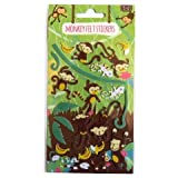 Monkey Felt Stickers Create Your Own Scene Art Crafts Room Decoration