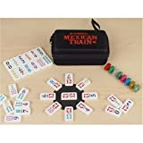 Travel Size Mexican Train Double 12 Domino Game Set