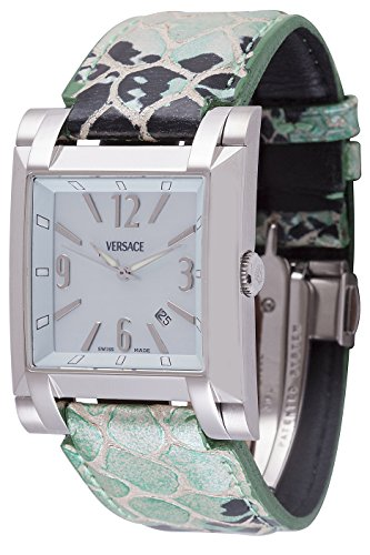 Versace-Mens-FLQ99D220-S220-Character-Analog-Display-Quartz-Green-Watch
