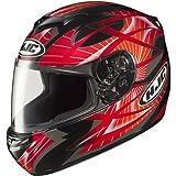 HJC Storm Men's CS-R2 Sports Bike Racing Motorcycle Helmet - MC-1 / Large