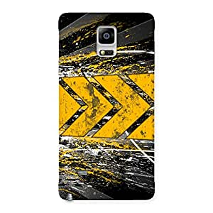 Forward Abstract Back Case Cover for Galaxy Note 4