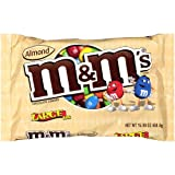 M&M'S ALMOND CHOCOLATE CANDIES HUGE 450.8g BAG AMERICAN IMPORT